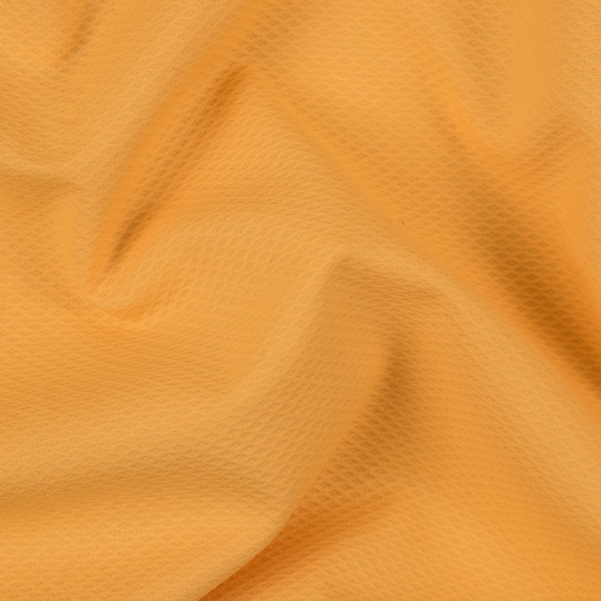 amber yellow cotton birdseye pique 310701 11