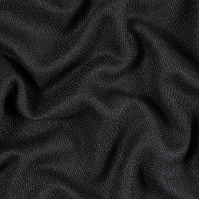 armani black and dark navy abstract wool woven 314414 11