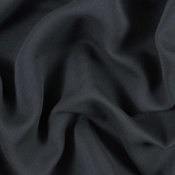 armani black creped wool double cloth 314341 11