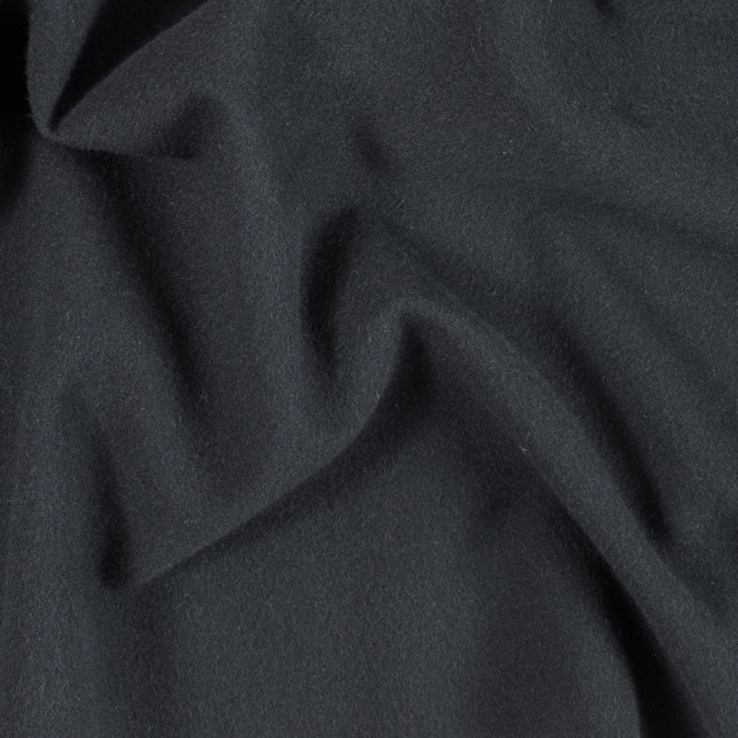 armani black wool woven with fleece backing 314380 11
