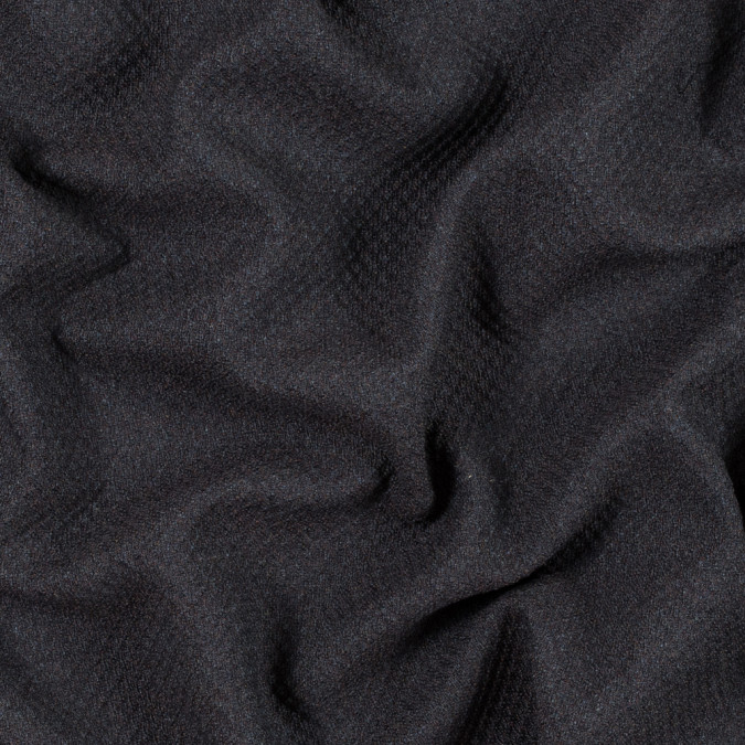 armani dark slate and mustang textural wool woven 314244 11