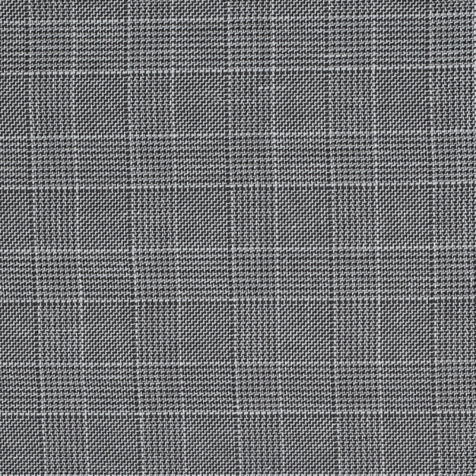 armani shitake and white glen plaid reversible wool woven 314434 11