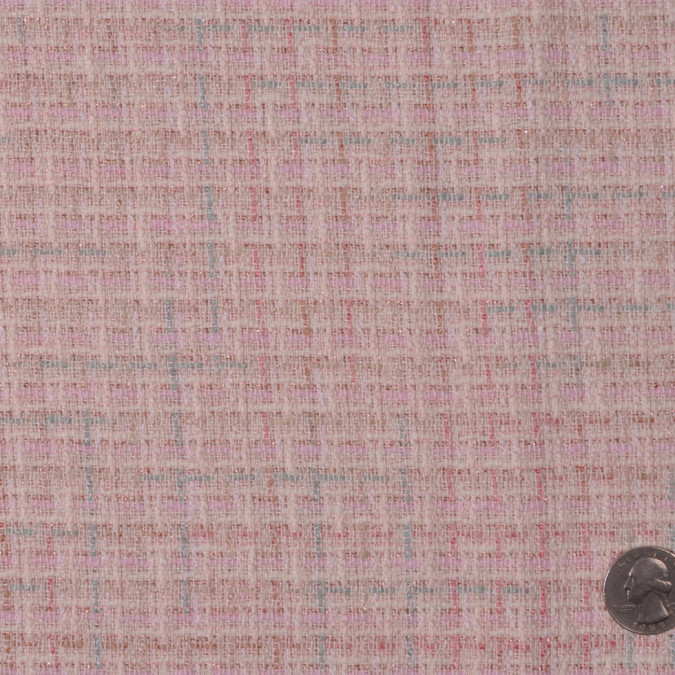 baby pink natural solid boucle fw12254 11