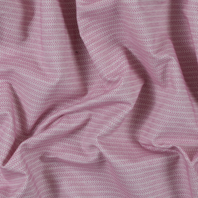 begonia pink and white geometric cotton woven 315122 11