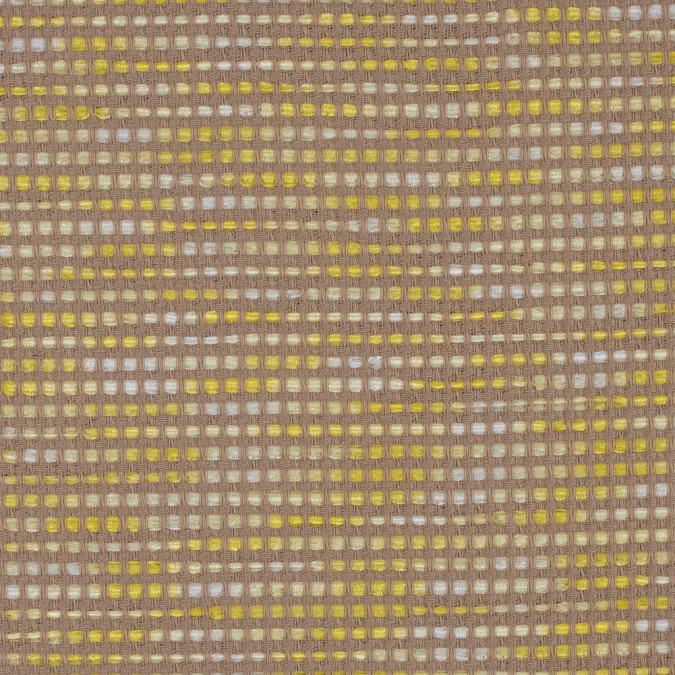 beige and yellow blended cotton woven 312111 11
