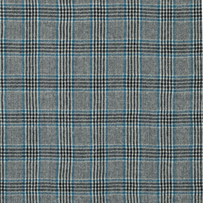 black white and blue glen plaid wool woven 315214 11