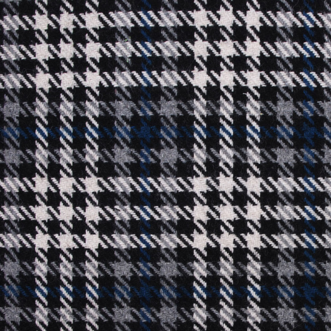 black white and blue houndstooth wool blend 302468 11