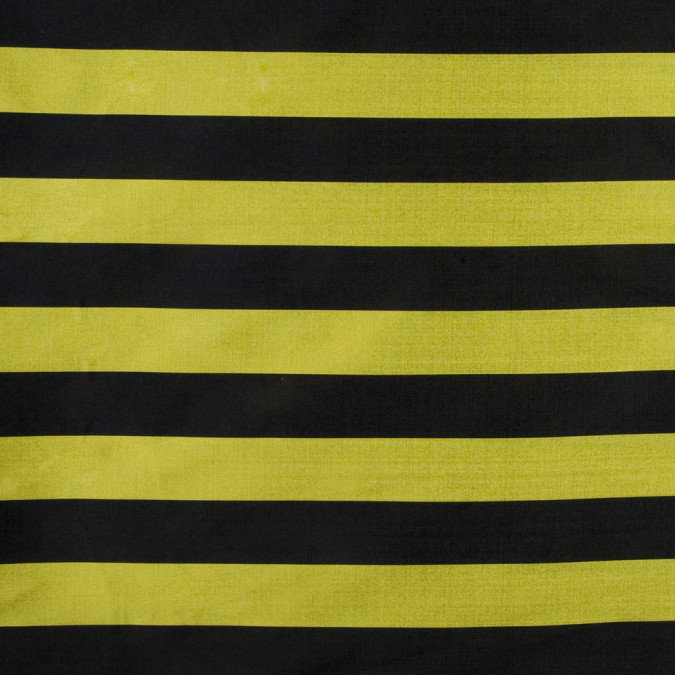 black chartreuse awning striped polyester taffeta fp18452 11