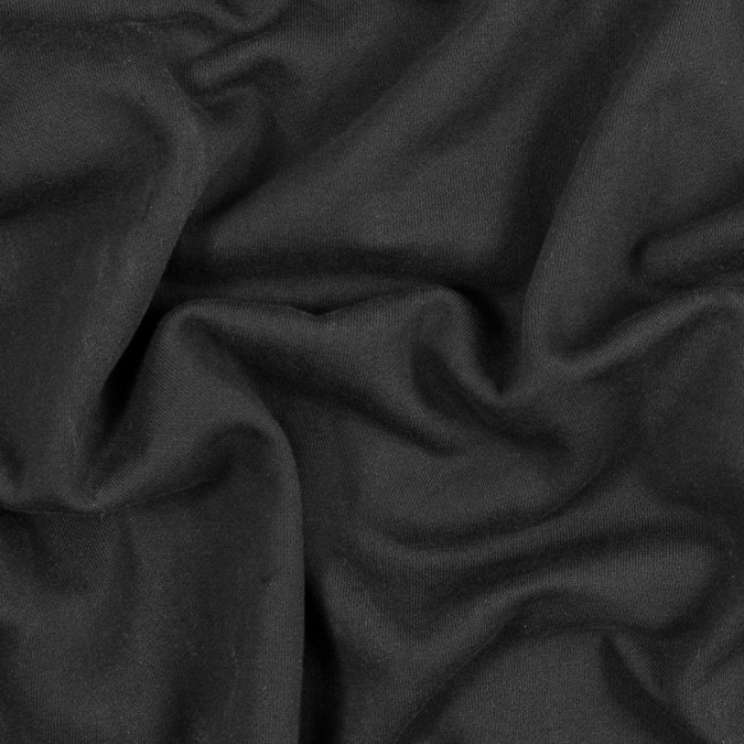 black cotton and polyester brushed fleece 316153 11