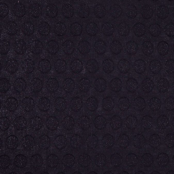 black metallic dotted cotton jacquard 303163 11