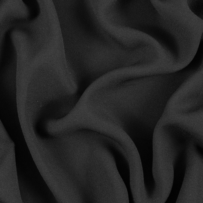 black satin faced polyester crepe 310969 11