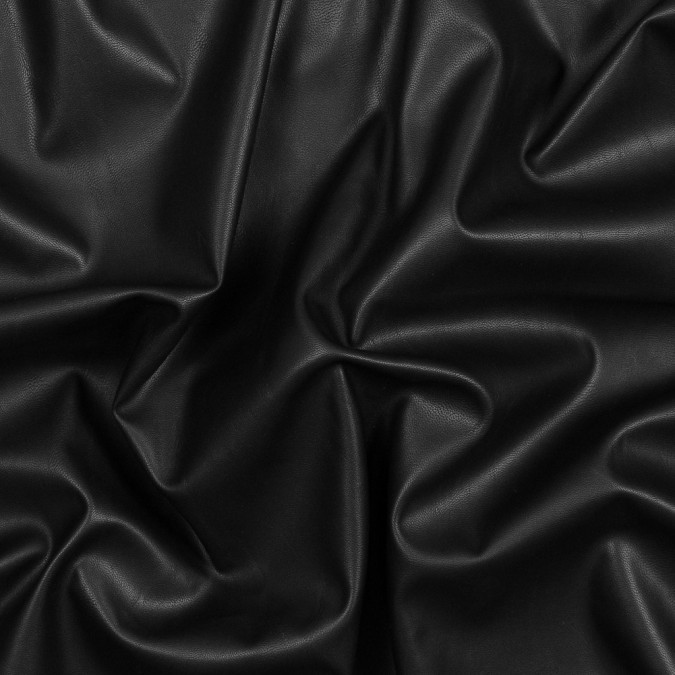 black stretch faux suede backed faux leather 319266 11