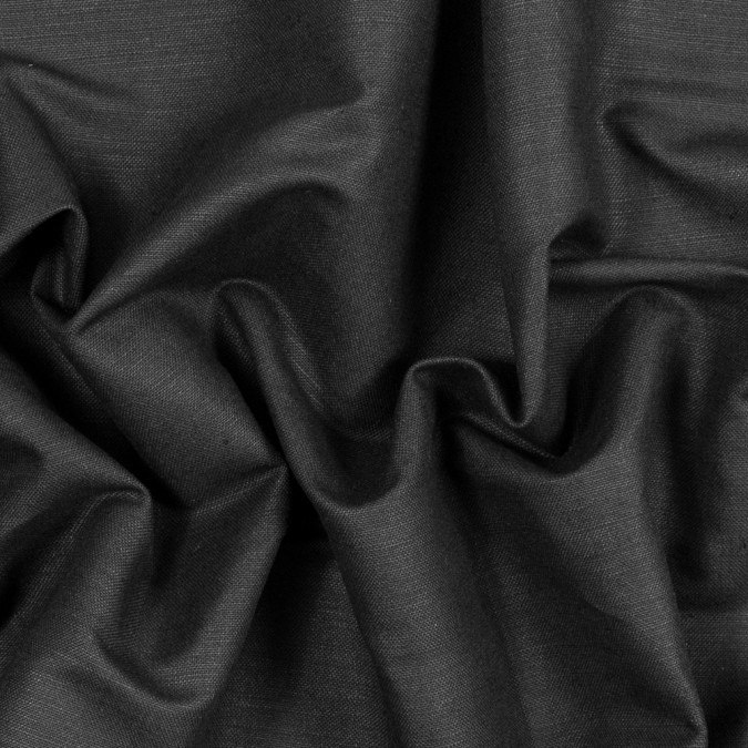 black waxed medium weight linen woven 317595 11