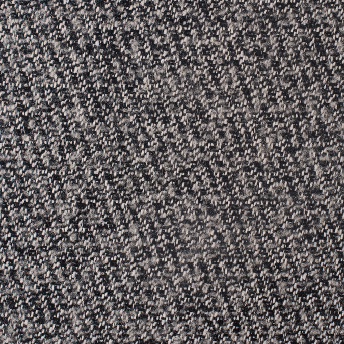 black white gray wool tweed with interface and jersey backing 308082 11