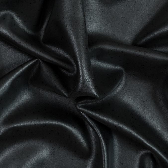 black wool felted coating with speckled laminate 316015 11