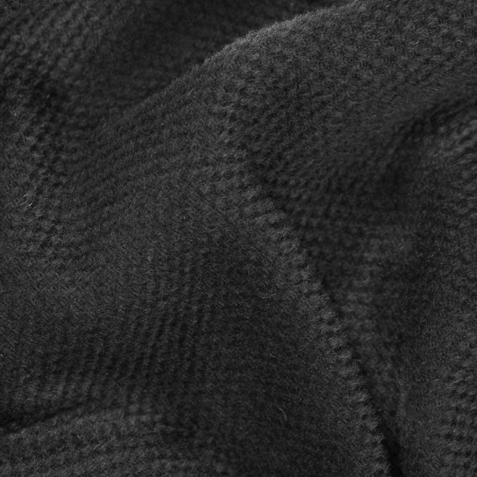 black woolen and worsted wool basketweave 310635 11