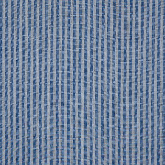 blue candy striped light weight linen 310987 11