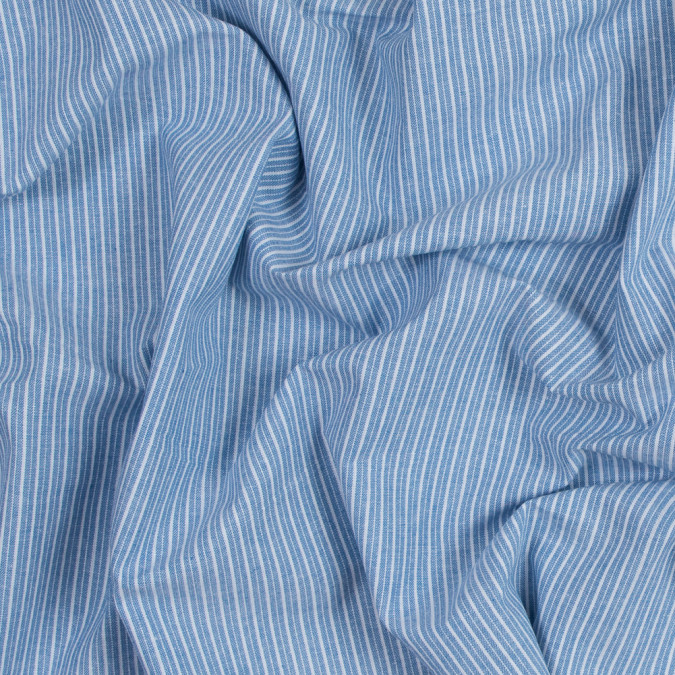 blue sky striped cotton chambray 316484 11