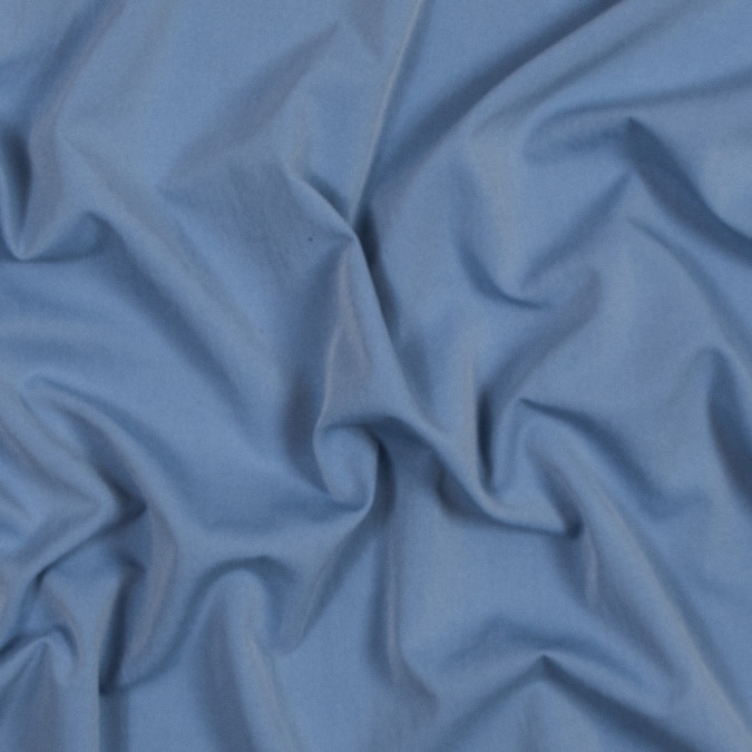 blue speckled polyester shirting with give 317415 11