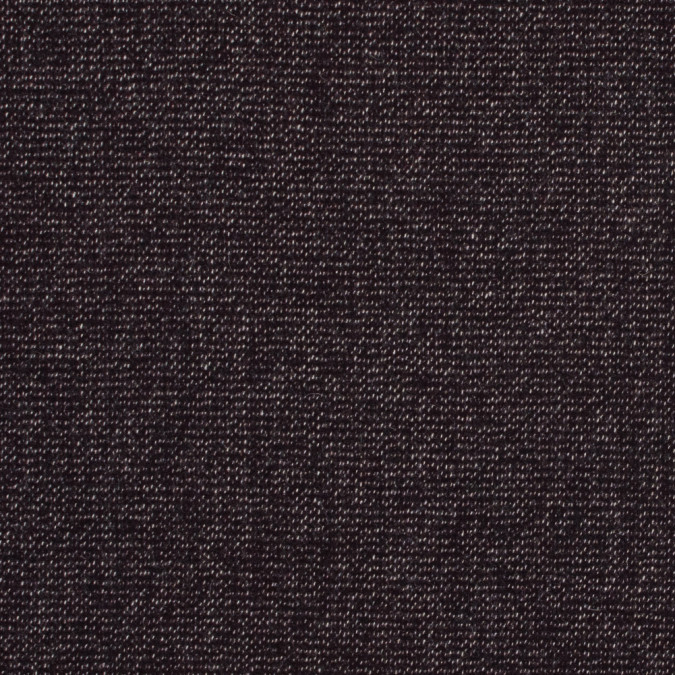 bordeaux and white speckled wool tweed 317233 11