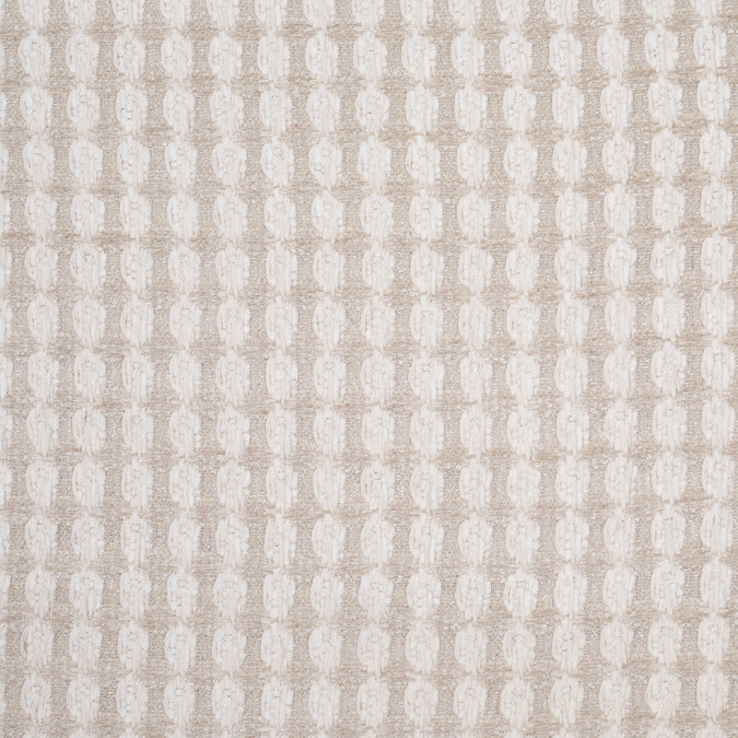 bright white and birch checkered cotton acrylic boucle 304953 11