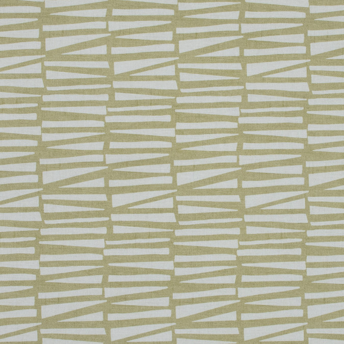 british lime abstract geometric printed cotton canvas awg584 11