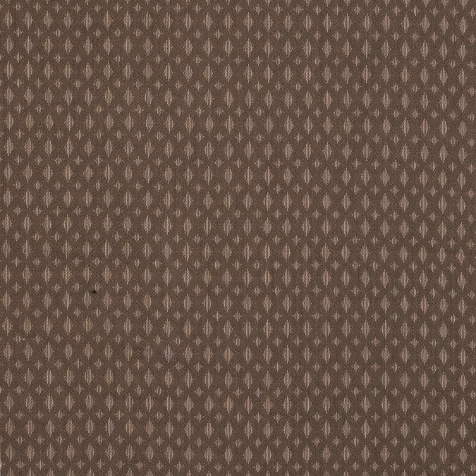 brown and green loosely woven silk and wool jacquard 319274 11