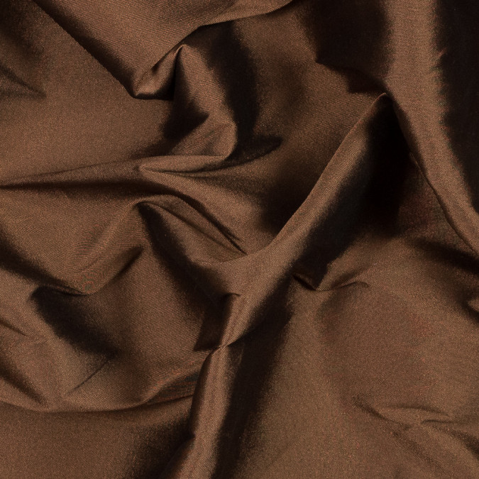 brown blended silk twill 319663 11