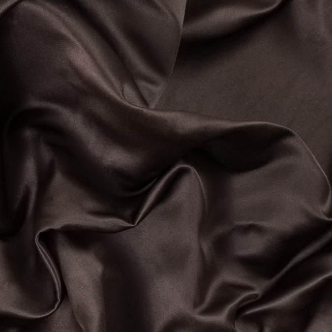 brown double faced duchesse satin 312576 11