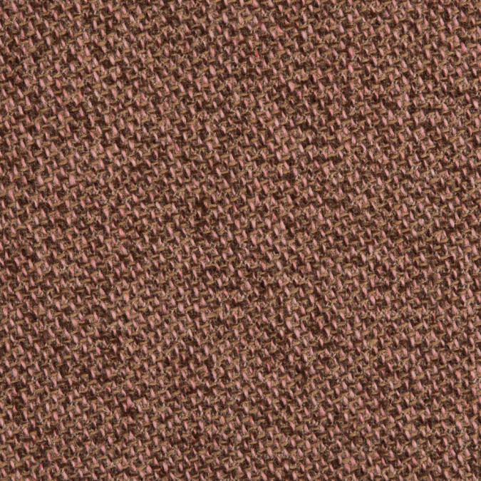 brown pink blended wool tweed 309700 11
