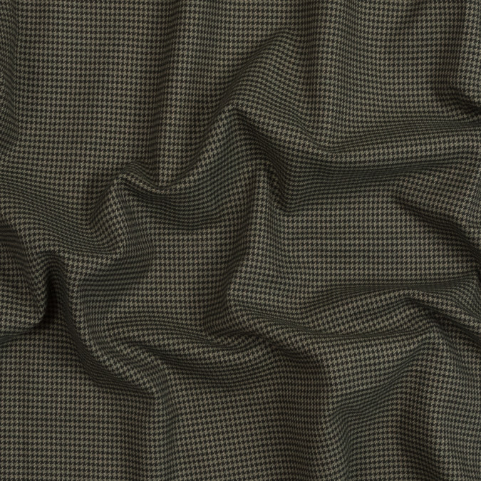 burnt olive houndstooth brushed cotton suiting 319062 11