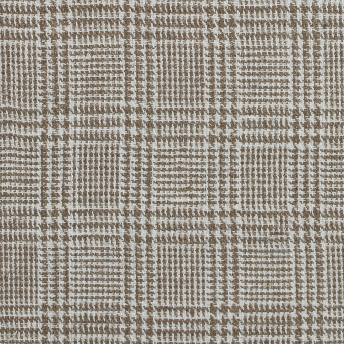butternut and whisper white glen s plaid raw silk 313739 11
