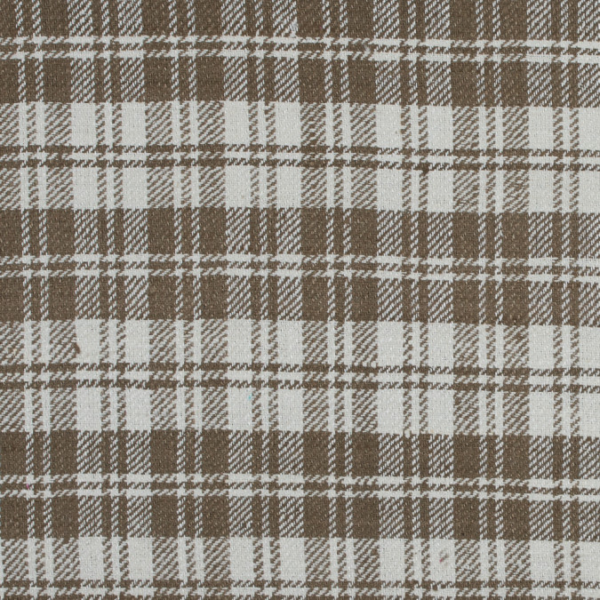 butternut and whisper white tartan plaid raw silk 313746 11
