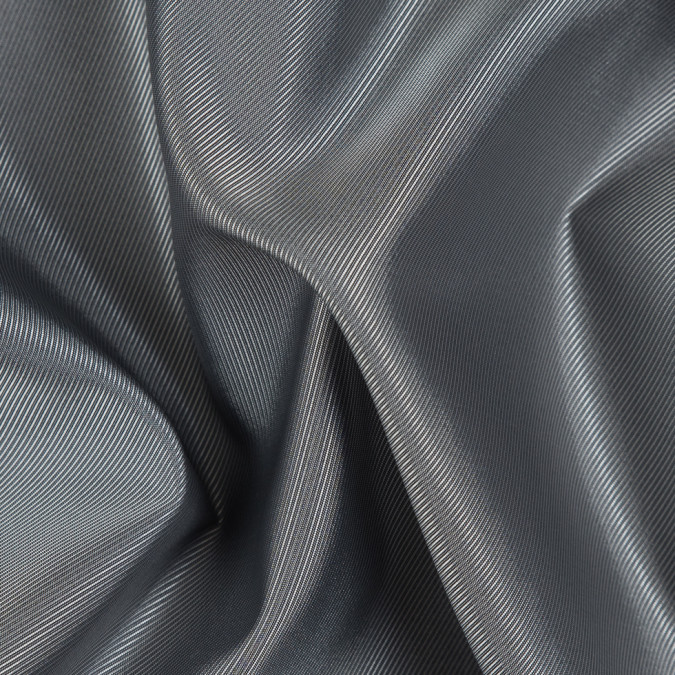 charcoal silver iridescent twill lining fn26441 11