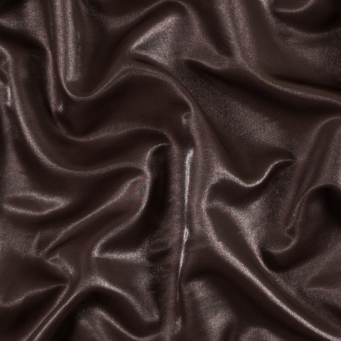 chestnut satin faced wool twill 301645 11