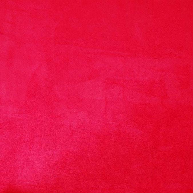 chinese red solid faux suede hp30015 11