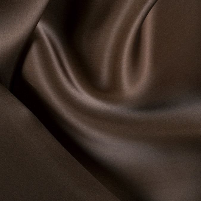chocolate wide silk satin face organza pv4000 189 11