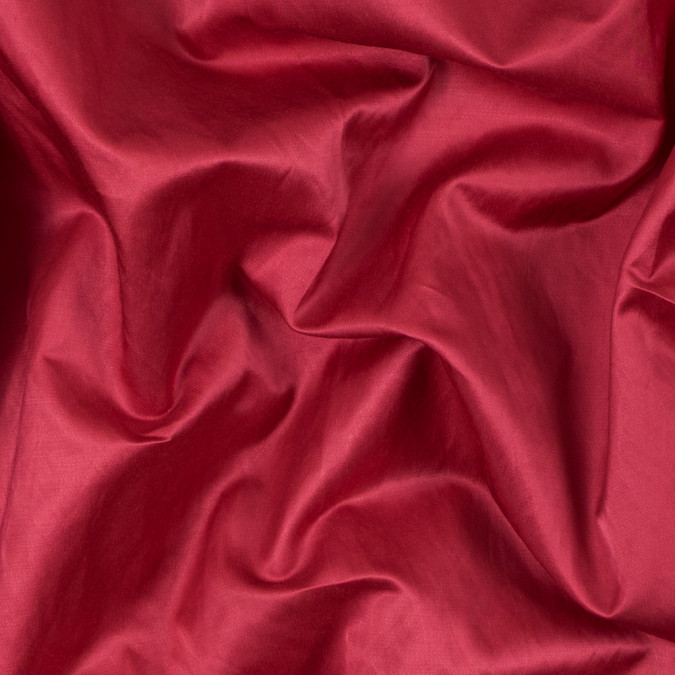 cranberry red blended polyester satin 312178 11