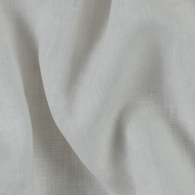 cream woven linen suiting 114291 11