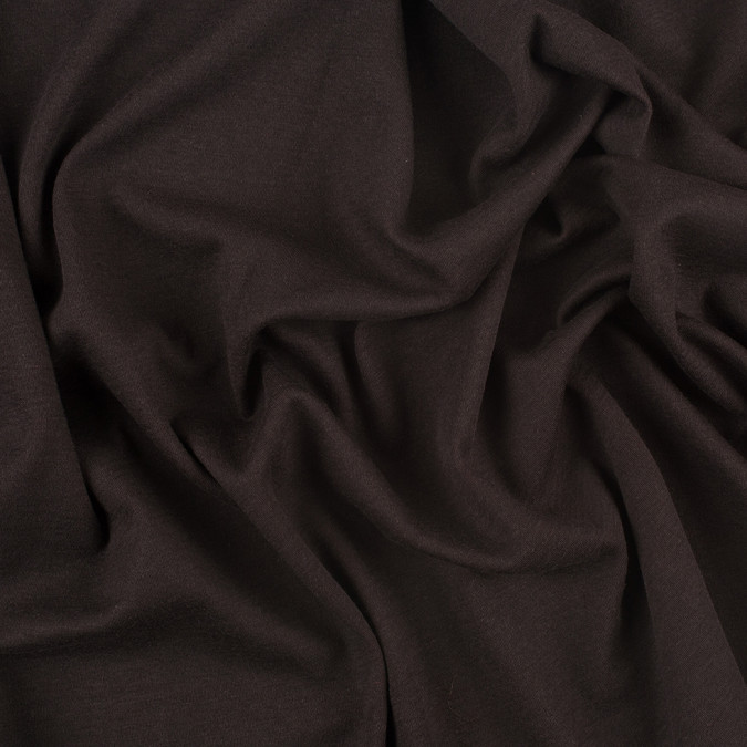 dark brown and coral double cloth stretch jersey 308116 11