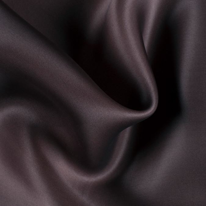 dark brown wide silk satin face organza pv4000 190 11