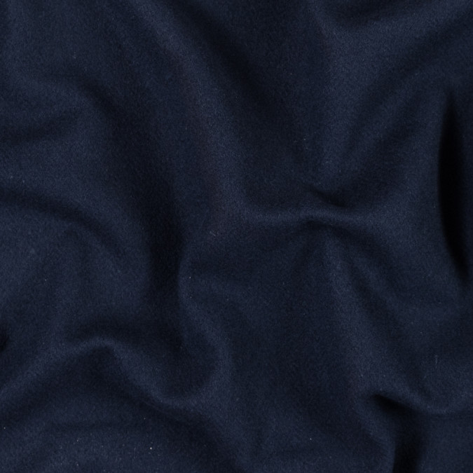 dark navy double sided fleece wool coating 313989 11
