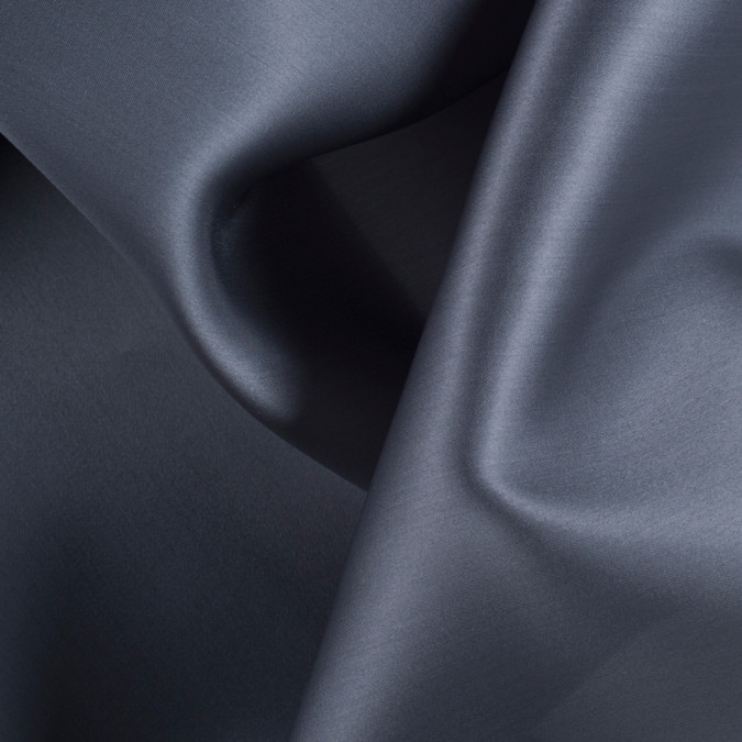 dark silver wide silk satin face organza pv4000 192 11