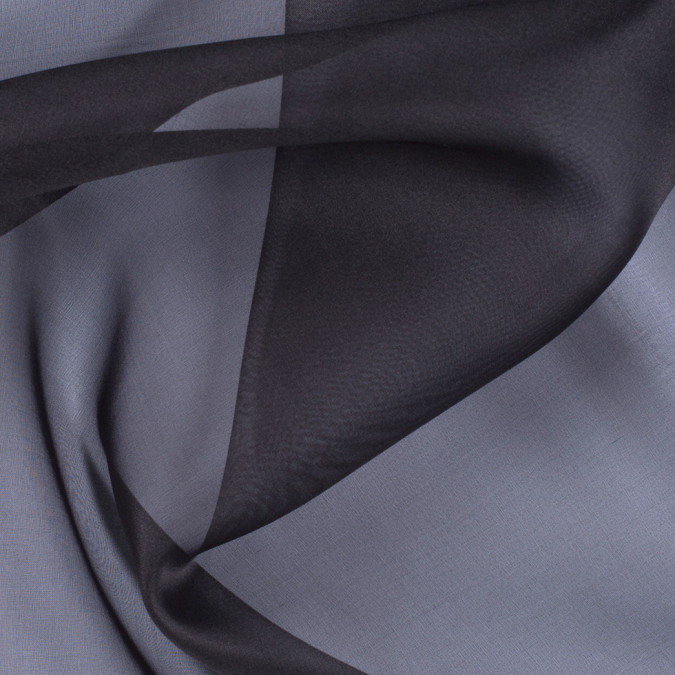 deep charcoal silk organza pv3000 193 11