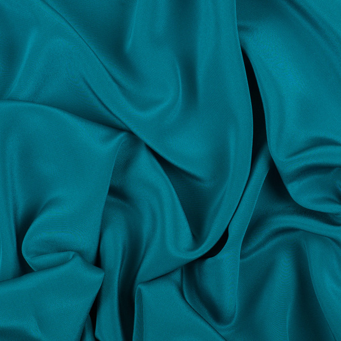 deep teal silk crepe de chine pv1200 198 11