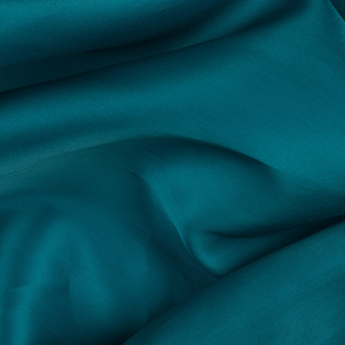 deep teal silk satin face organza pv4000 198 11