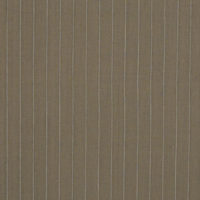desert taupe pencil striped linen woven 317587 11