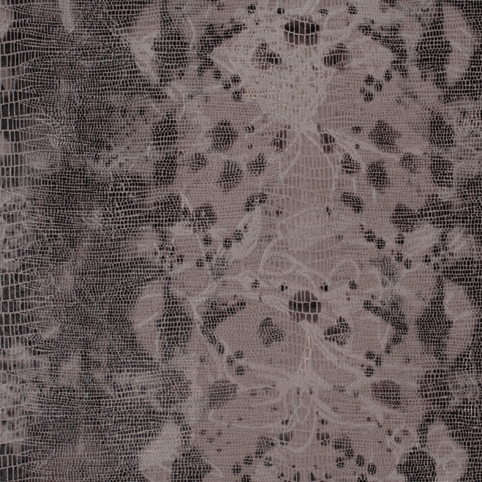 dove and brown reptile print over jacquard woven 307956 11