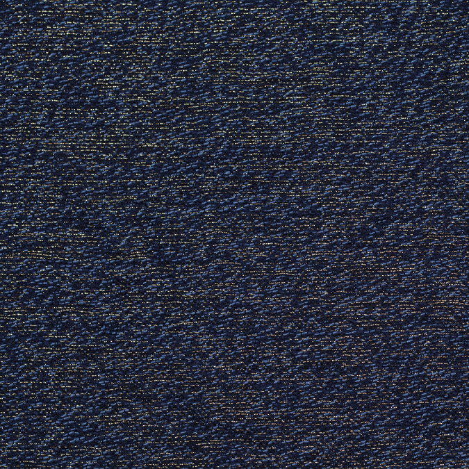 dusky blue black and metallic gold novelty woven 304317 11