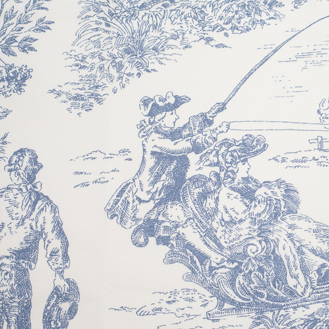 english wedgewood blue cotton toile 110392 11